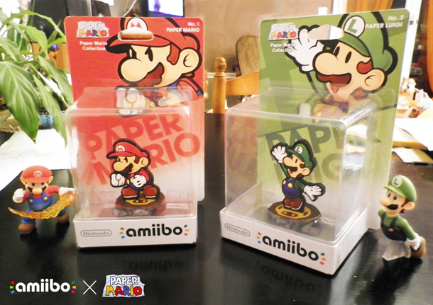 Check Out These Awesome Custom Paper Mario Amiibos