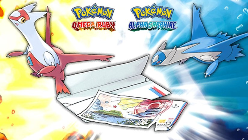 The Pokemon Omega Ruby & Alpha Sapphire Eon Ticket Will Be Distributed Online Soon