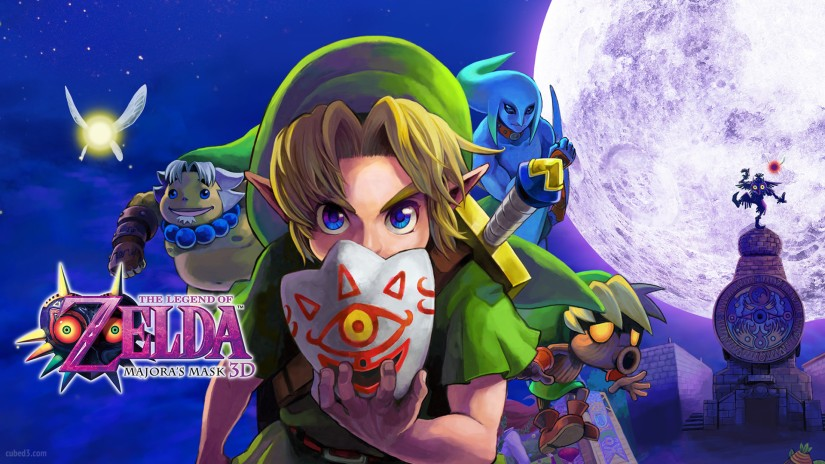 New 3DS Home Menu Themes Arrive For Europe This Friday, Includes Majora's Mask and Monster Hunter