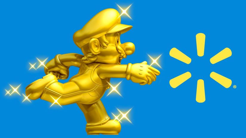 Walmart Is Apparently Delaying Some Gold Mario Amiibo Pre-orders