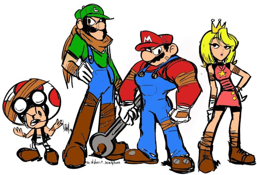 Skit: If Sega Or Ubisoft OwnedMario