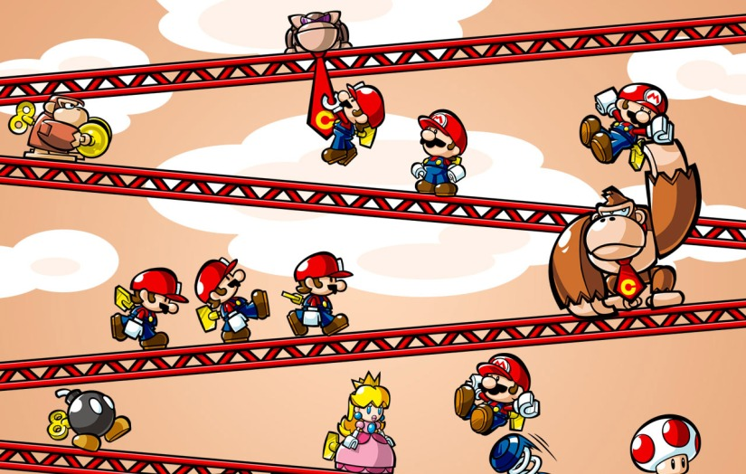 Here's The Launch Trailer For Mario vs Donkey Kong: Tipping Stars