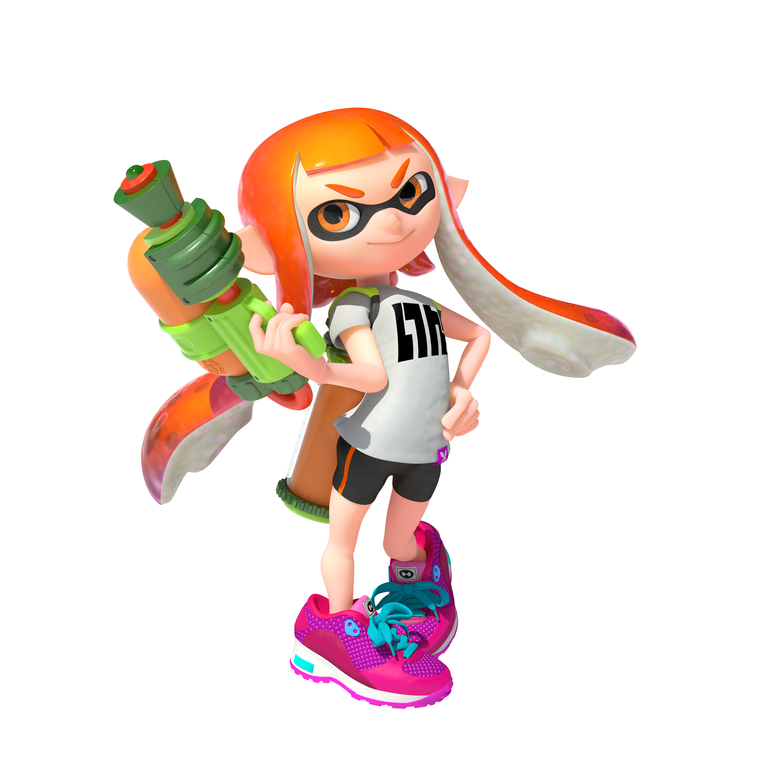 Free Inkling Hat With Any Wii U Splatoon Pack At Nintendo UK Store