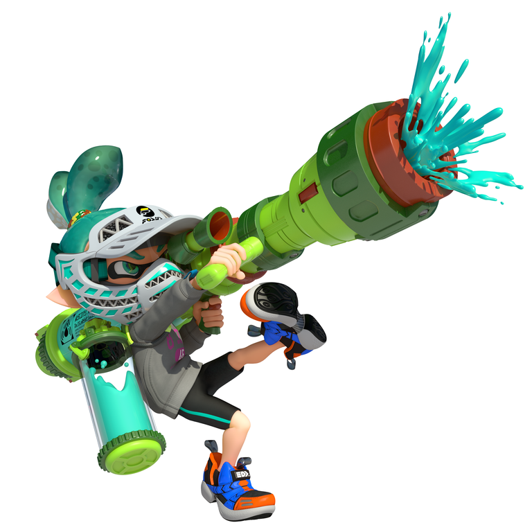 Here's Some Information About The Official Prima Strategy Guide For Splatoon