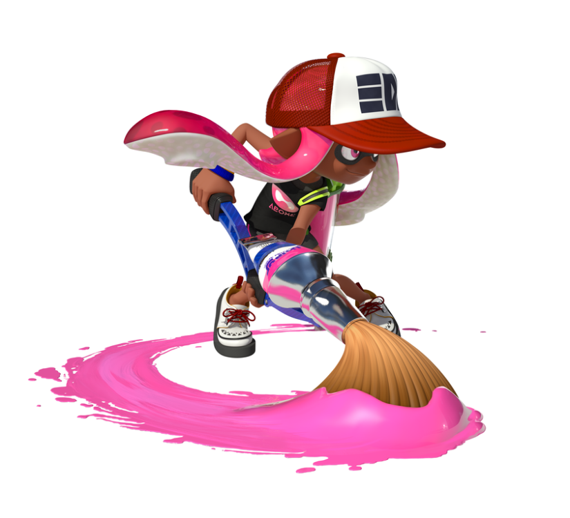 The Official Splatoon US Website Opens And It LooksLovely