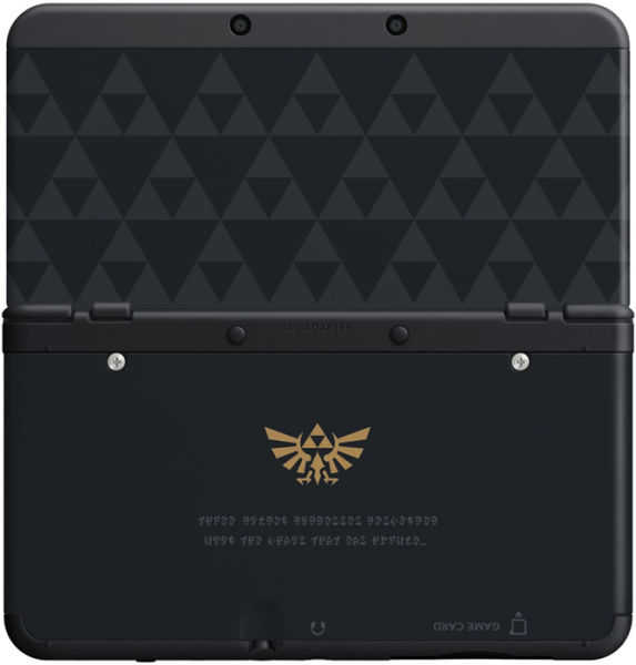 You Can Now Pre-Order The Zelda Triforce 3DS Cover Plates From GAME UK