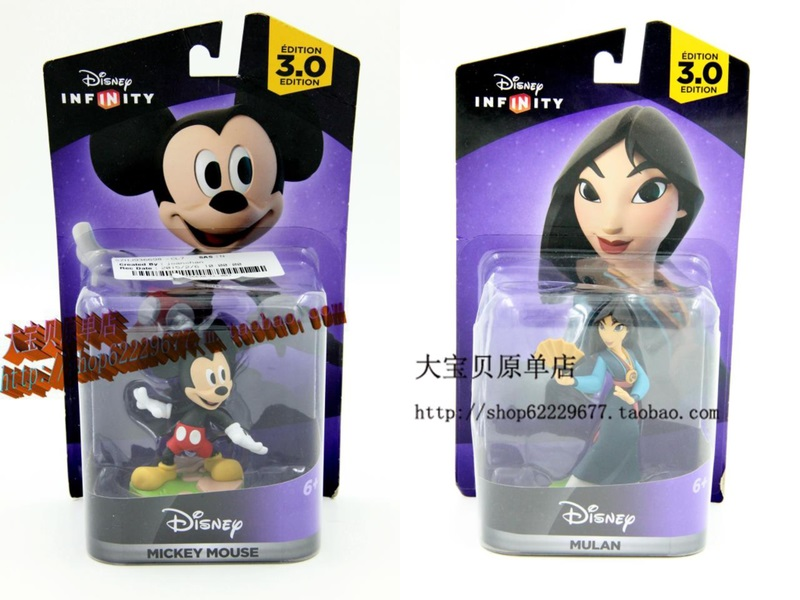 Figures For Disney Infinity 3.0 Leak: Mickey Mouse, Mulan And More
