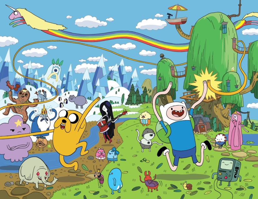 A New Adventure Time Game Is Coming to Nintendo 3DS And Wii U