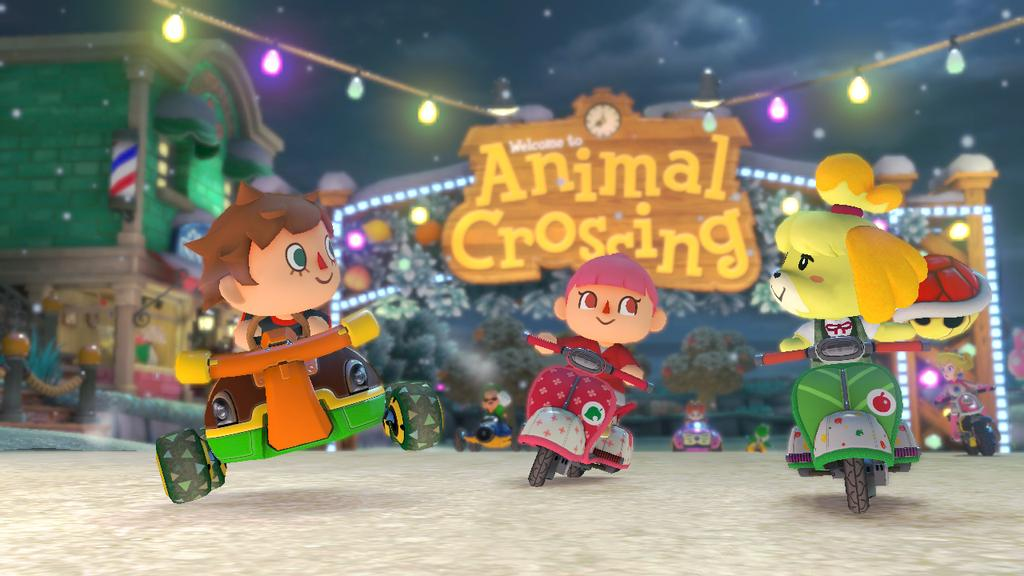 Animal Crossing Mario Kart 8 Dlc Coming April 23rd And 200cc Speed