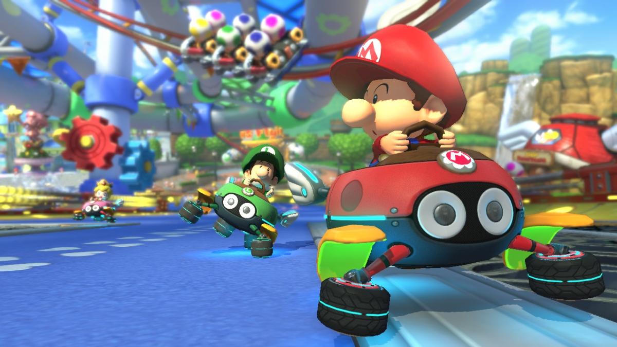 Baby Mario Mario Kart 8: Mario Kart 8 Trailer Previews DLC Pack 2