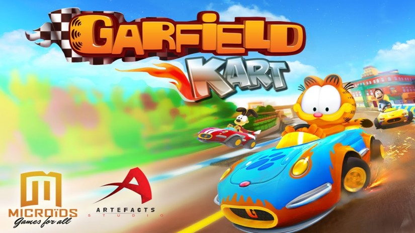Garfield Kart For Nintendo 3DS Announced By AmazonGermany