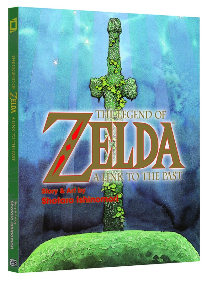 LegendOfZelda-LinkToThePast-Graphic-Novel