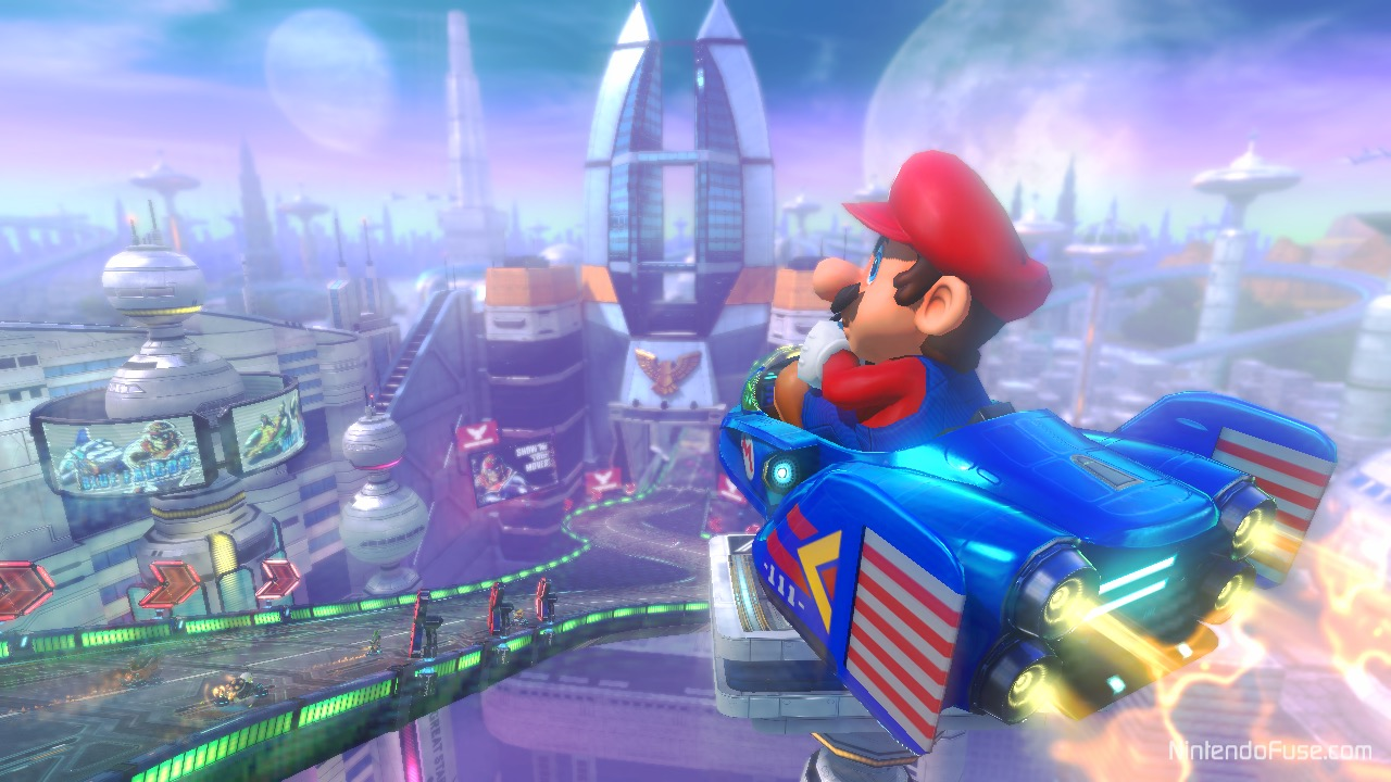 Here S A Look At Mario Kart 8 200cc Mode On Mute City My