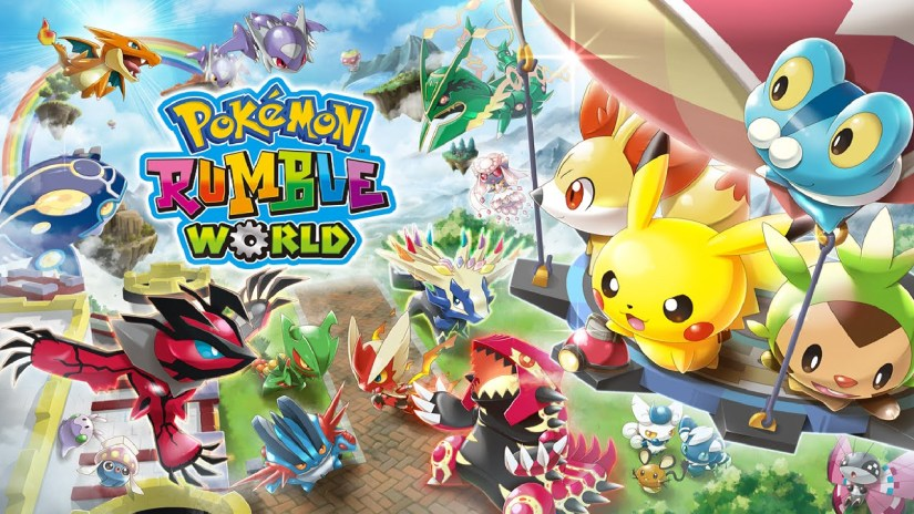 Here's The First 55 Minutes Of Pokemon Rumble World