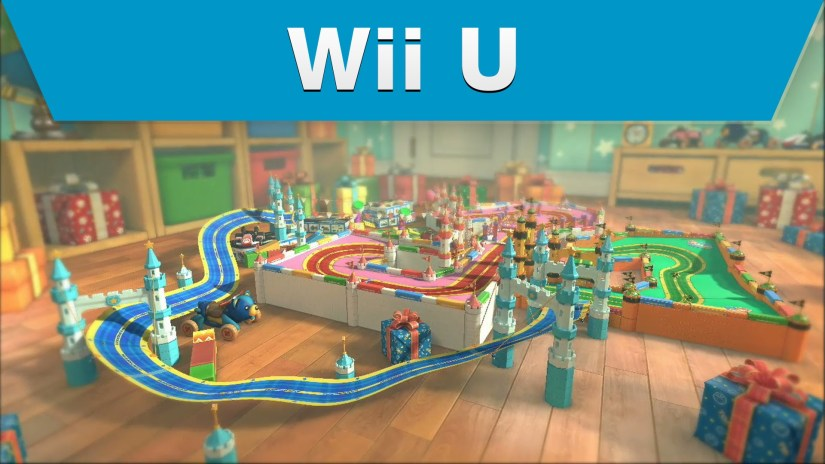 Mario Kart 8 DLC Comparison Of Ribbon Road (Wii U Vs GBA)