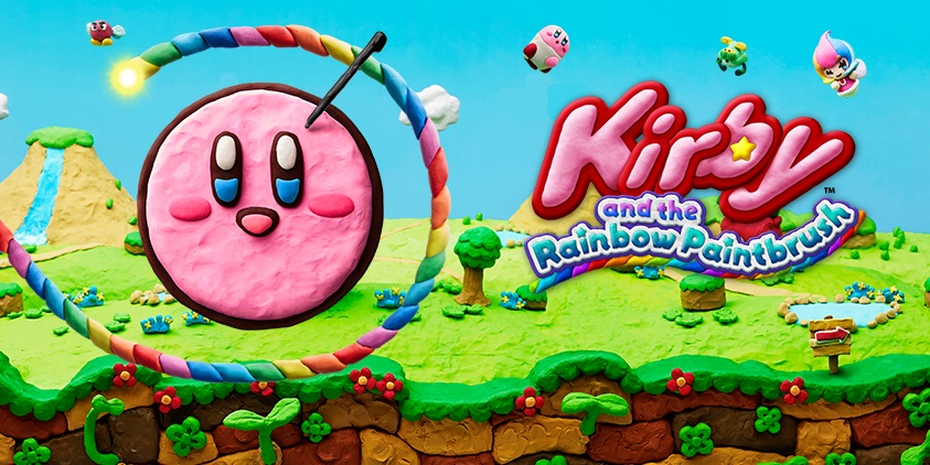 UK Charts: Kirby And The Rainbow Paintbrush Barely Hangs On In The Top40