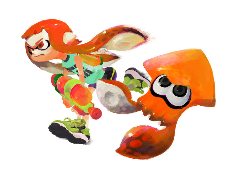 Pre-order Splatoon At GAME And Receive A Free InklingHat