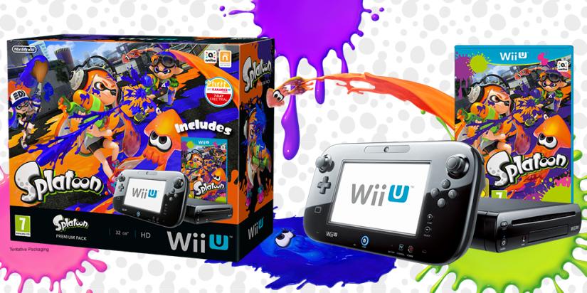 Splatoon Wii U Premium Bundle Coming to Europe On June19th