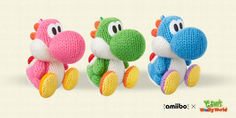 Yoshi's Woolly World Amiibo Packs Available For Order On Nintendo UK Store
