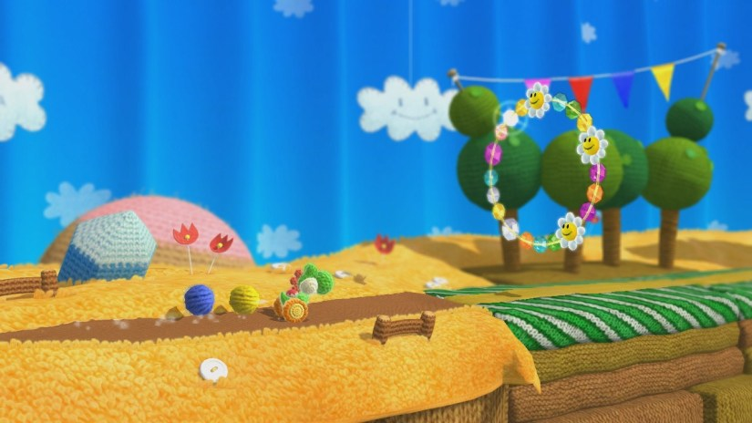 New Details For Yoshi's Woolly World As Well As Screens Of The Gorgeous World Map
