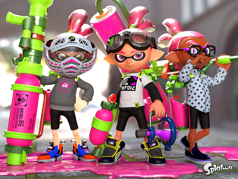 If You Live In Canada You Can Check Out Splatoon At A Number Of Best Buy Locations