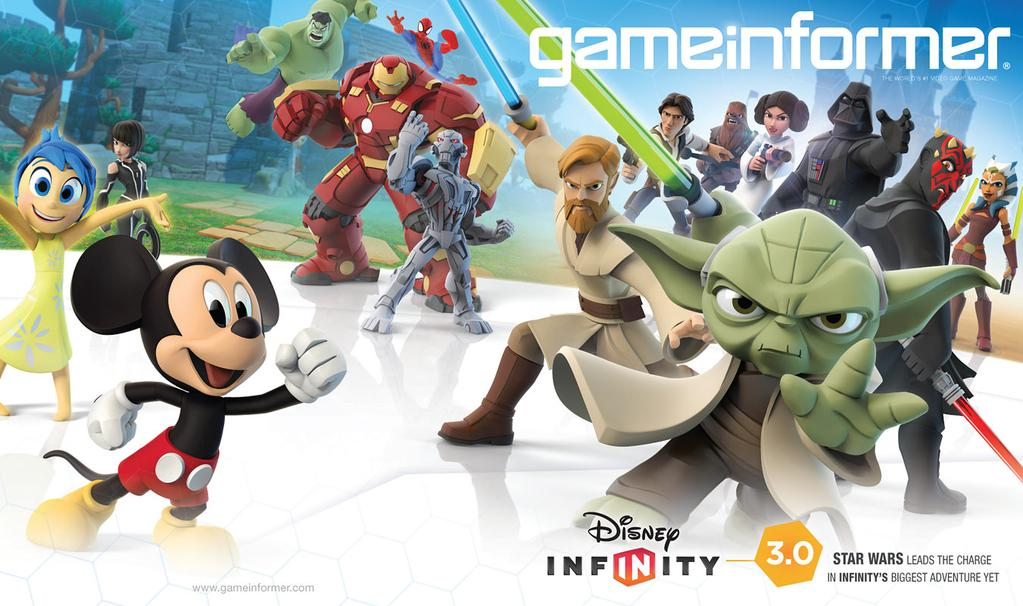 Game Informer Cover Reveal Is Disney Infinity3.0