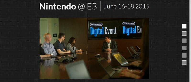Keep An Eye On Nintendo's Official E3 Website Which Is Now Live