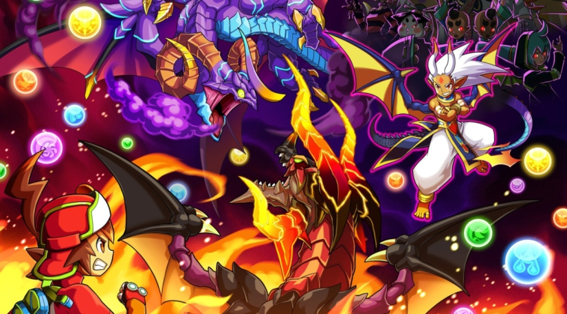 Puzzle & Dragons Z Video Shows How To Make The Flying Letter 'L'Pattern