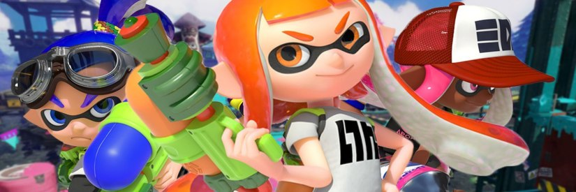 Nintendo Uploads A Splatoon Video Showcasing New Weapons