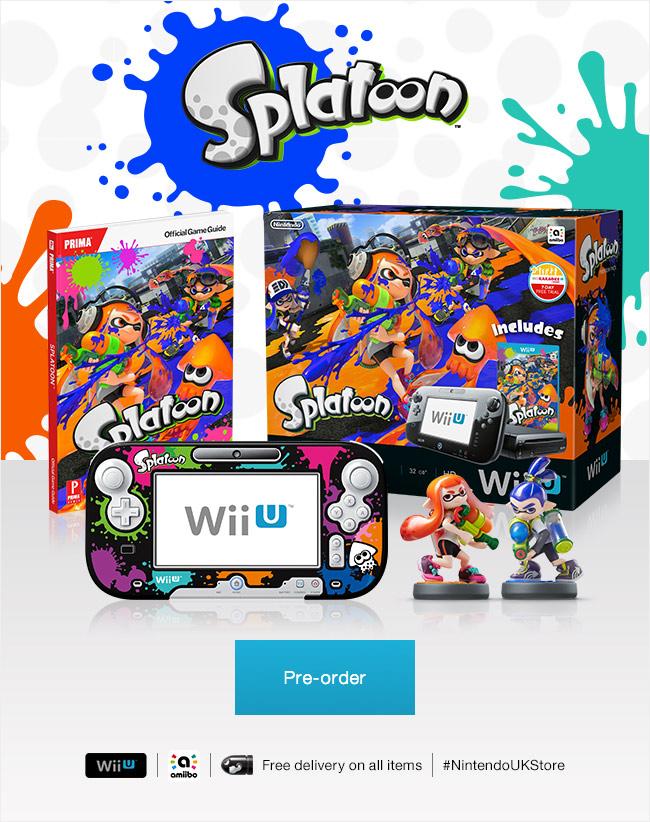 Famitsu Reveals New Info on Wii U Title Splatoon, No Voice ...  |Splatoon Wii