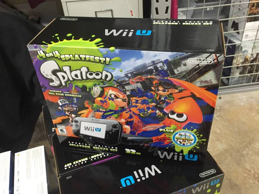 Check Out The Splatoon Wii U Bundle (Photos)