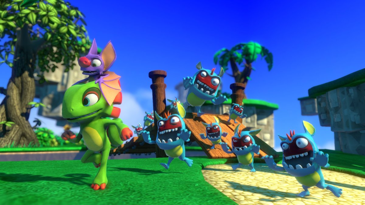 Here's Some New Yooka-Laylee Art And What Playtonic Learnt FromBanjo-Kazooie