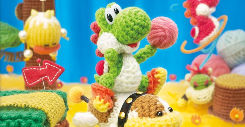 GameStop: Yoshi's Woolly World Game And Amiibo Bundle Up