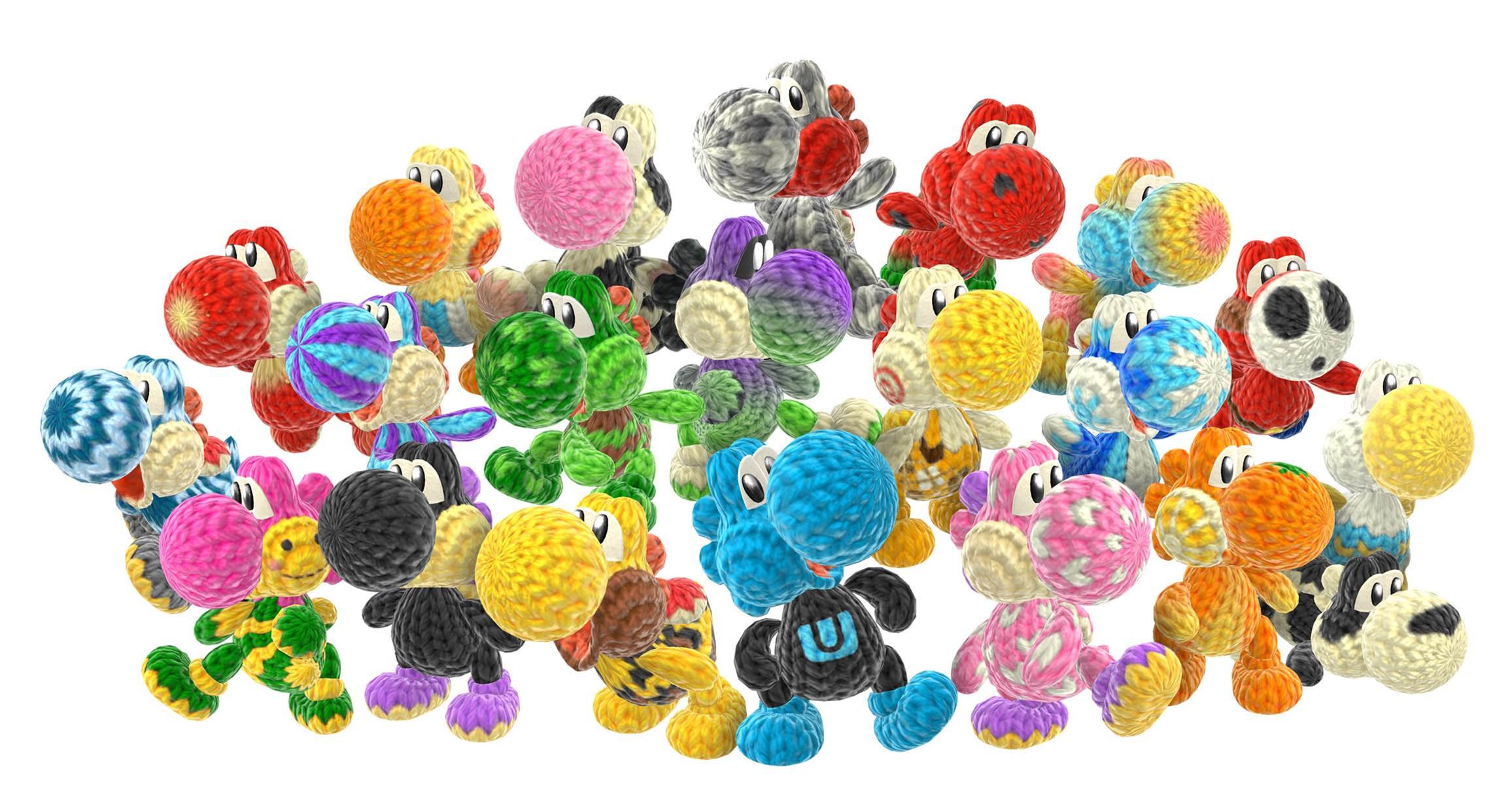 Yoshi Character Design : Yoshi s woolly world review my nintendo news