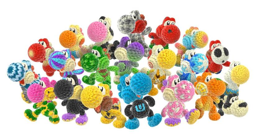 Here's A Preview With Tons Of Videos For Yoshi's Woolly World