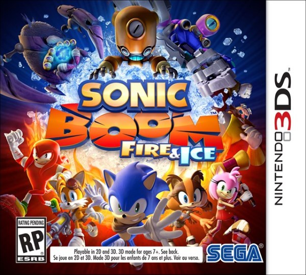 Sonic Boom Fire and Ice Box Art