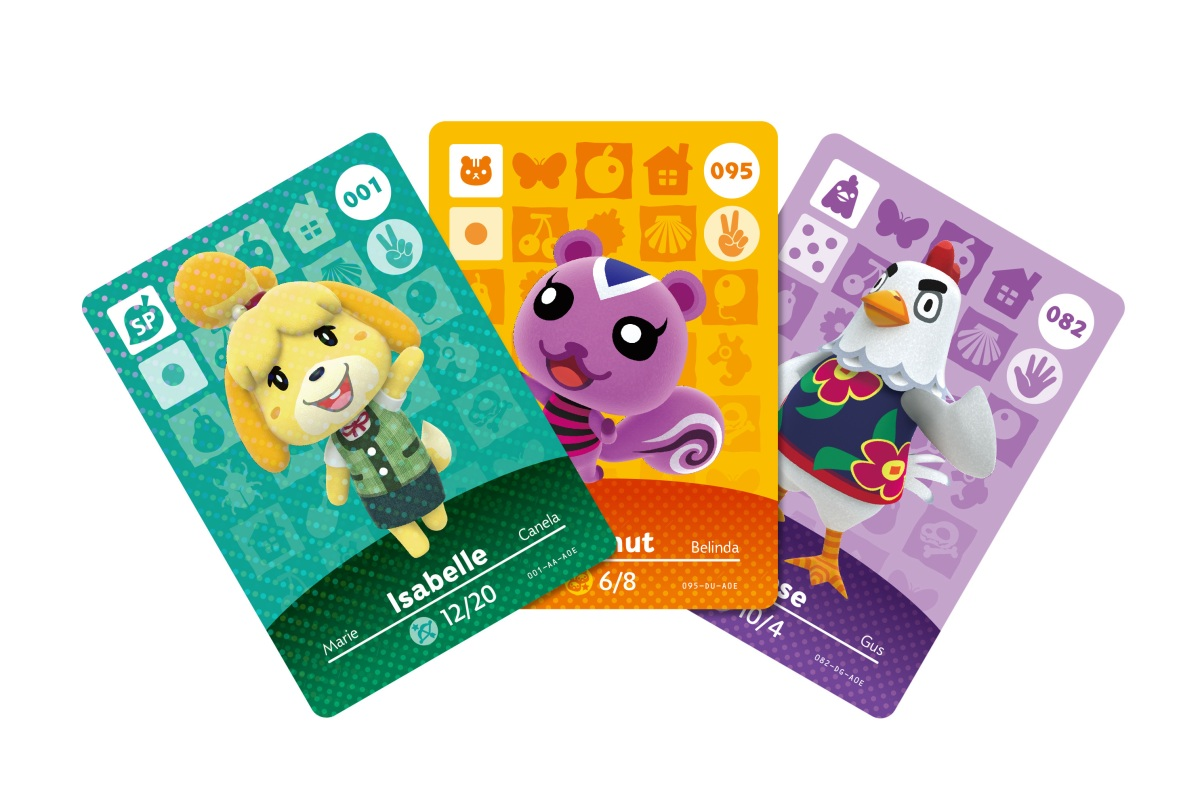 Nifty image pertaining to printable amiibo cards