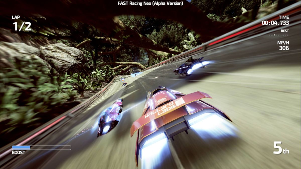 Here's Some More FAST Racing NEO Action Along WithDetails