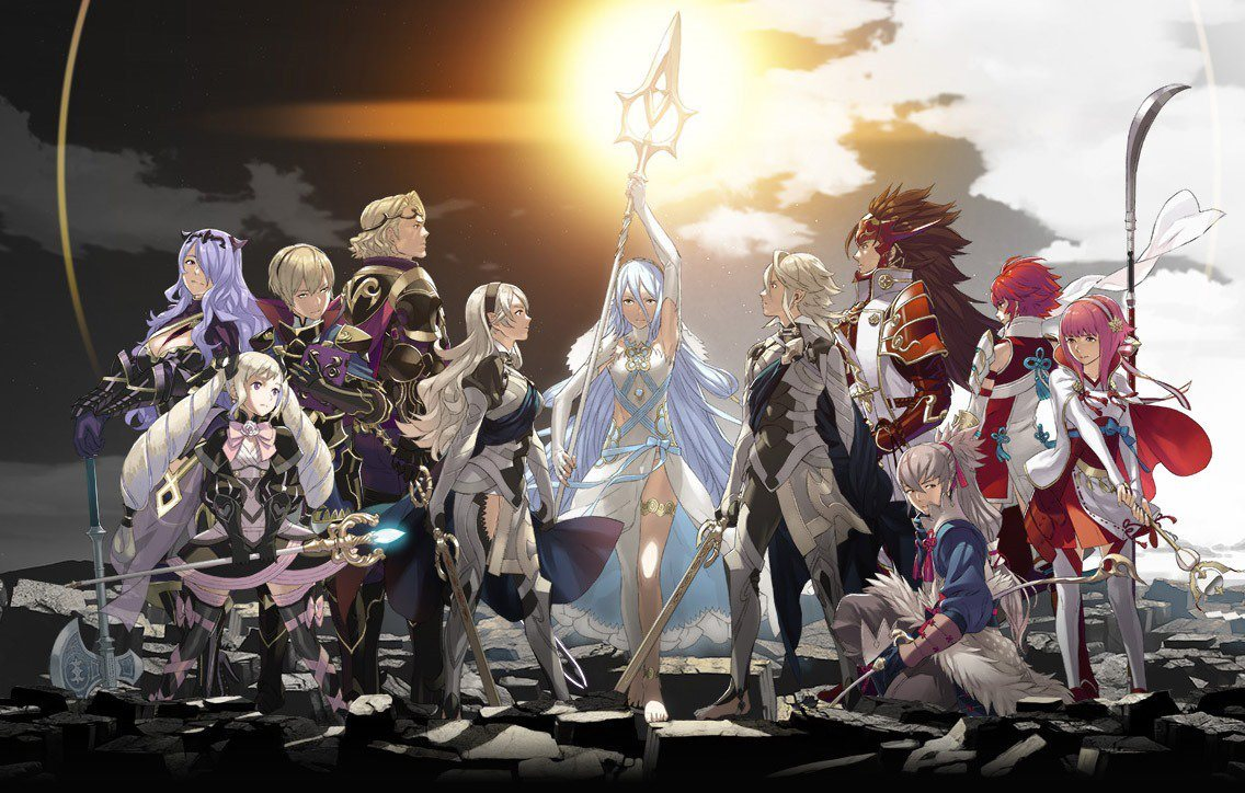 Shara And Zero Are The Two Bisexual Characters In Fire Emblem Fates Game Nintendo 3ds Conquest Usa My News