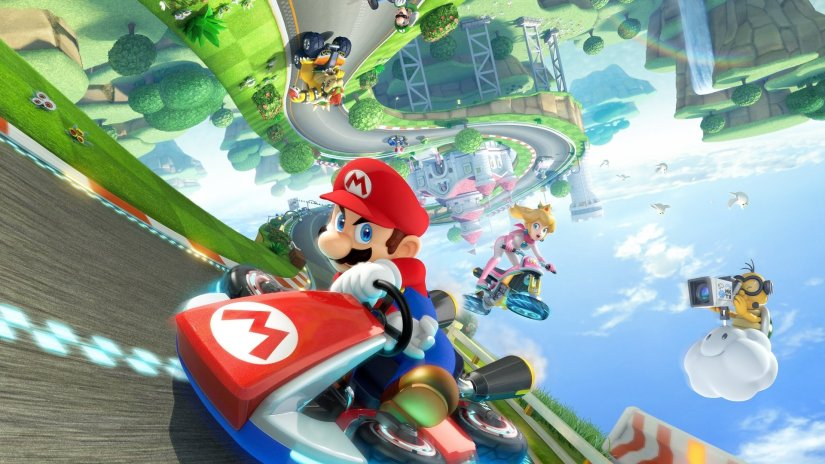 Check Out This Incredible Mario Kart 8 Themed Nursery