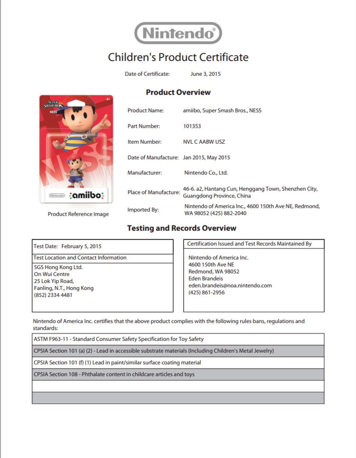 Ness Document My Nintendo News