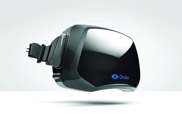 A whole new world An early prototype for the Oculus Rift, which raised $2.4 million on Kickstarter