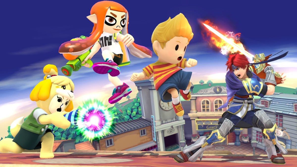 Video: Here's A Look At Smash Bros QR Codes