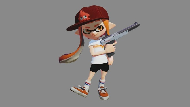 New Splatoon Update Brings N-Zap '85 And New Map