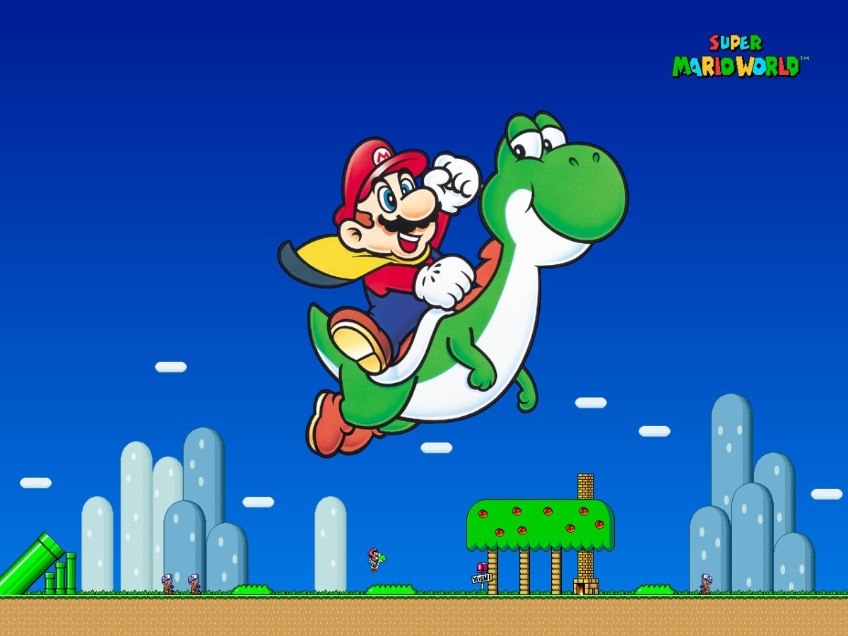 Blindfolded Guy Beats Super Mario World In 23 Minutes