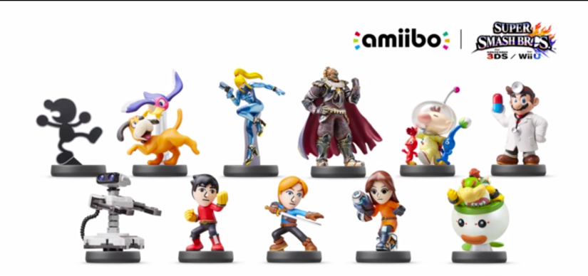Some New Amiibo Announced Today Will Be Released September25th
