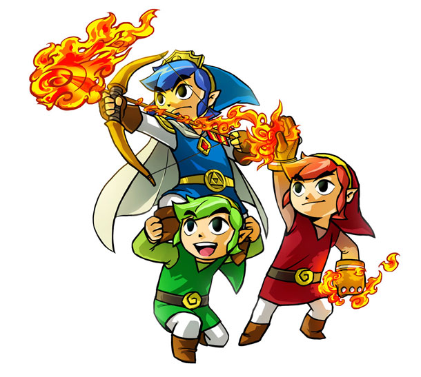 Nintendo Has No Plans For Amiibo Support In Zelda: Tri Force Heroes
