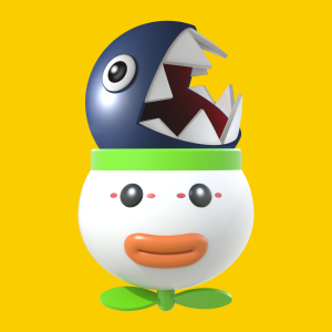 wiiu_supermariomaker_chain_chomp_clown