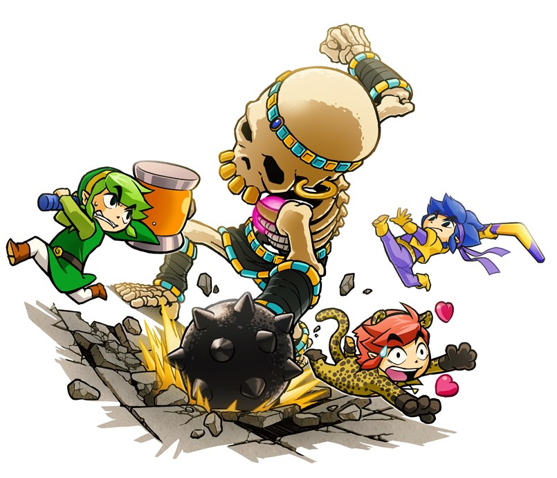 Nintendo Has Explained Why You Can't Play As A Woman In Zelda: Tri ForceHeroes