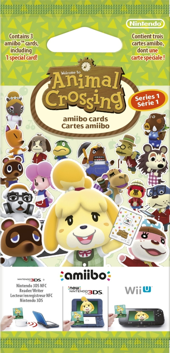 Japan 312 000 Packs Of Animal Crossing Amiibo Cards Have